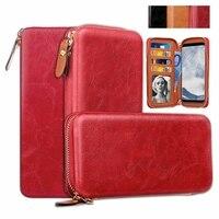 Misolocat Universale Wallet Case For Samsung Galaxy S8 S7 S6 Edge S5 J3 J5 J7 PU