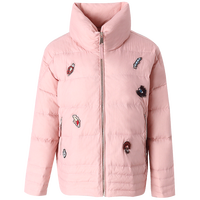 Women short jackets winter coats white duck down women coats young fashion new pattern embroidery warm parkas elegant plus size