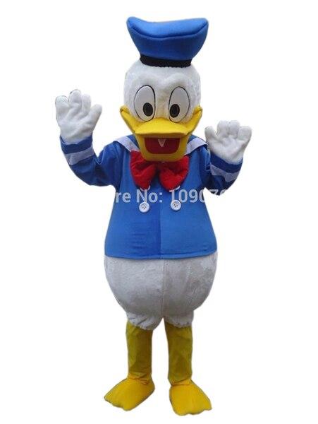 Trajes feitos sob encomenda Bola Pato Donald e Margarida Mascote Trajes Dos Desenhos Animados Bonecas Roupas de Imitação Cosplay