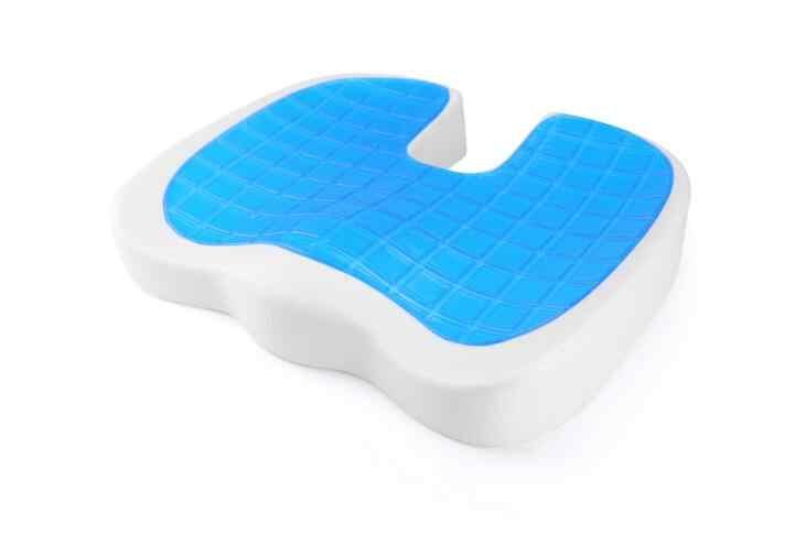 2019 品質新デザイン U 字型シリコーンゲル尾骨保護低反発夏クールシートオフィス/椅子/ 車/車椅子クッション
