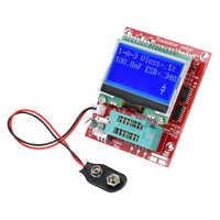 Meterk PWM Platz Welle Signal Generator LCR Widerstand Induktivität Diode Kapazität ESR Frequenz Meter M644 Transistor Tester
