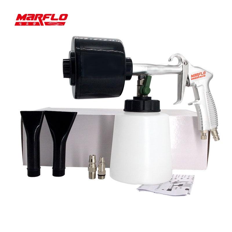 MARFLO Car Washer Cleaning Foam Gun Car Washing Gun Snow Foam Lance Portable Tornado Foam Gun Cleaning Shampoo Sprayer