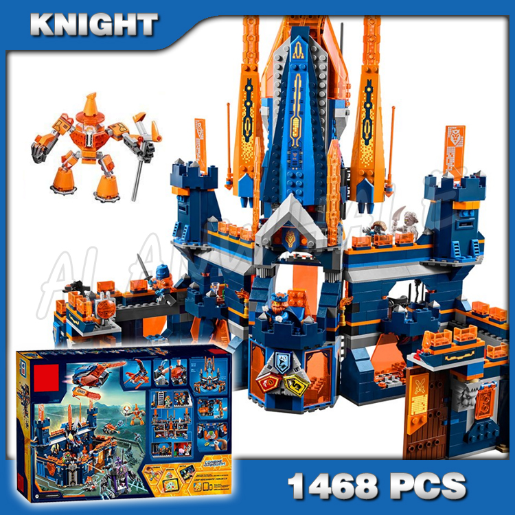 Nexo Knights Fortrex Castle Building Blocks Bricks Set Gift Toys For Kids 14006