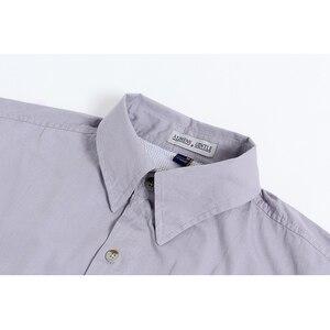Image 2 - קצר שרוול דיג מזדמן חולצות הפתילה בד שמש הגנת מהיר יבש חיצוני גברים של קיץ חולצות לנשימה קמפינג חולצות