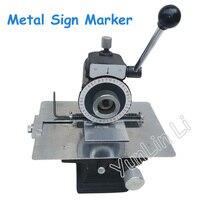 Металлический маркировочная машина инструмент плоттер ручной полуавтоматический напорная пластина разбив машина для нанесения надписей