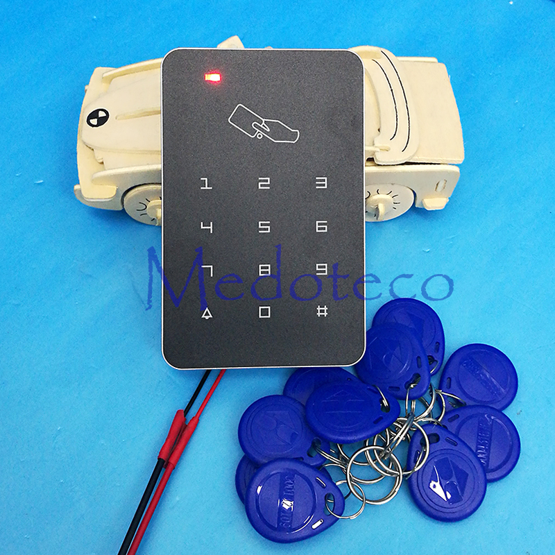 125khz Rfid Access Control High Security RFID Proximity Entry Door Lock Access Control System 1000 User keypad Door Controller rfid intercom embedded access control 13 56mhz ic module controller 2000 user