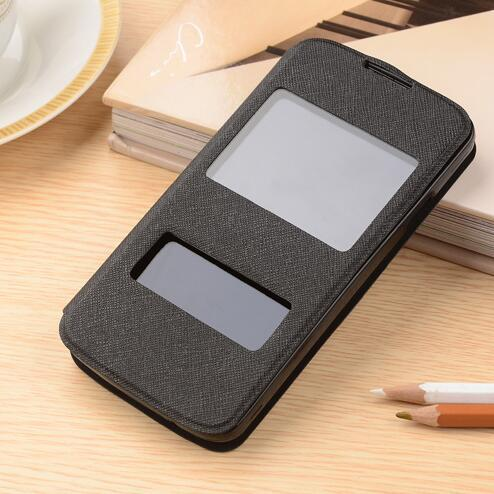 For Philips I908 case New 2014 flip leather cover case for Philips I908 phone 4 color in stock free shipping