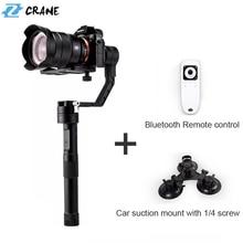 Zhiyun Crane 3-axis DSLR Handheld Stabilizer Gimbal for Mirrorless Camera Support 1.2KG Canon M Sony Alpha7 Nikon J Lumix Series