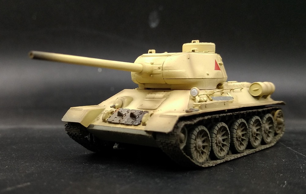 EM 1:72 World War II Soviet <font><b>tank</b></font> <font><b>model</b></font> <font><b>T34</b></font>-85 Egyptian army Painting 36272 Favorites <font><b>Model</b></font> image