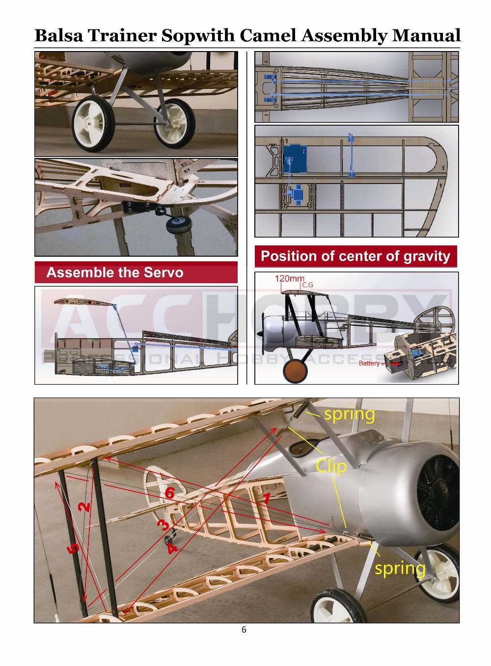Sopwith Camel Ww1 Fighter Laser Cut 1520mm Gas Power And Electric Wiring Diagram Rc Plane Along With Wwi Aircraft 3 Views Getsubject Aeproduct