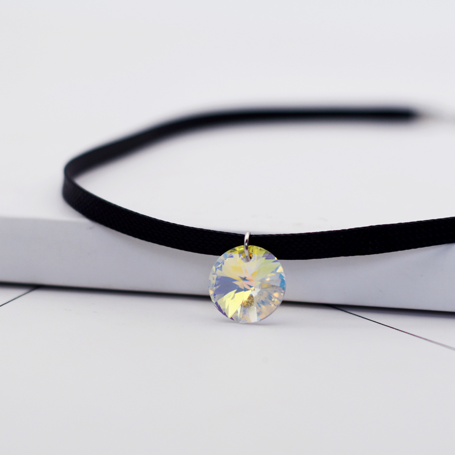 BAFFIN Jednostavni okrugli kristali od SWAROVSKI Elements Choker - Modni nakit - Foto 4