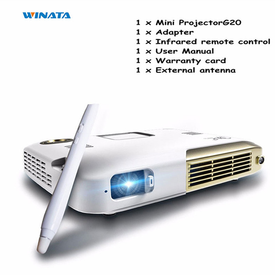 G20 Mini Projector 4K 4096*2160 Resolution 15000mAh Video Projector Home Theater Business Office Portable Led Full HD Proyector