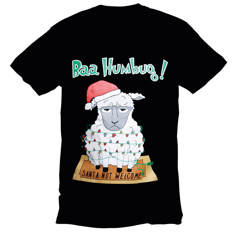 Бах Вздор мужские Рождество футболка S-3XL Рождество Шутка Новинка смешно напечатаны Одежда в стиле хип-хоп хлопок короткий рукав Футболка То...