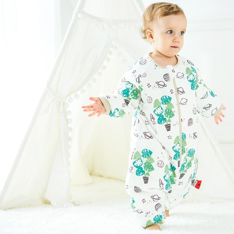 Śpiwory dziecięce zimowe grube śliczne kombinezon dla dzieci - Pościel - Zdjęcie 2