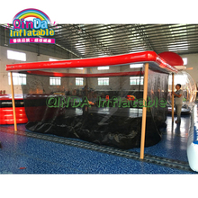 High Quality Giant Inflatable Ocean Pool For Yacht Inflatable Water Platform Swimming Pool Dock