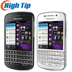 100% original Unlocked Original Q10 Blackberry mobile phone 3G 4G Network 8.0MP Dual-core 16G ROM Refurbished Free shipping