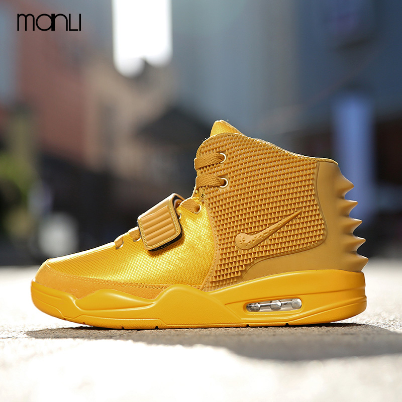 ФОТО 2017 Breathable Curry Comfortable Casual Shoes Men Red Retro Shoes Air Sport Basket Shoes Mens Trainers Superstar Big Size 39-45