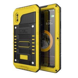 Image 3 - Coque de téléphone étanche en métal résistant aux chocs IP68 pour iPhone X XS XR XS MAX 8 7 6 6 S Plus 5 5 S SE Protection de la vie