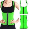 *USPS* Hot Sale Zip Neoprene Shaper Slimming Vest Weight Loss shapewear Waist corsets Sweat Sauna Suits Body Shapers