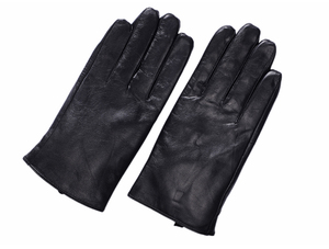 Image 5 - St. Susana 2018 Мужские Модные Простые короткие перчатки из овечьей кожи в английском и русском стиле, зимние тонкие короткие перчатки