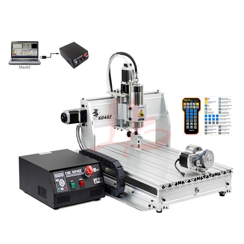 2200 W YOO CNC machine de gravure 6040Z vis à billes CNC routeur avec pince ER11