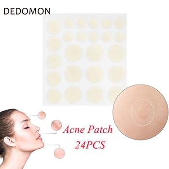24PCS Acne Remover Treatment Cream Blackhead Remover Mask Acne Remover Tool Black Pimple Scar Skin Tag Removal Acne Patch