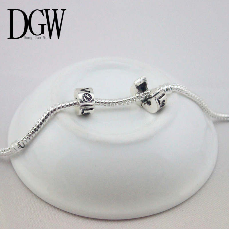 Dgw 1pc Free Shipping Fits Pandora Charms Bracelets Safety Bead Clip Stopper Star Pattern European Charm Diy Jewelry In Beads From Accessories On