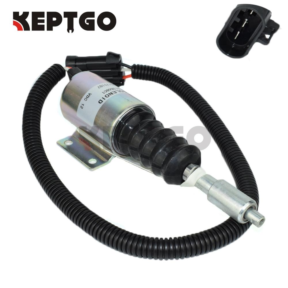 1813868C1 Fuel Injection Solenoid International DT360 DT466 For Navistar