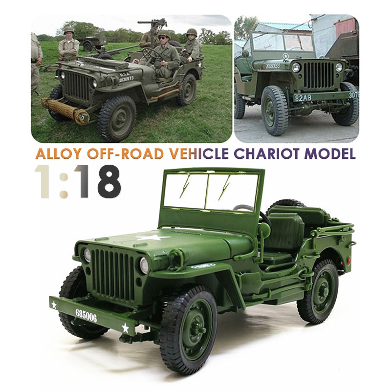 Toy Car Military Tactical Car Model Car Army Green Alloy Hobby Decoration Collection Fun Security Diy Kids Interesting Gift