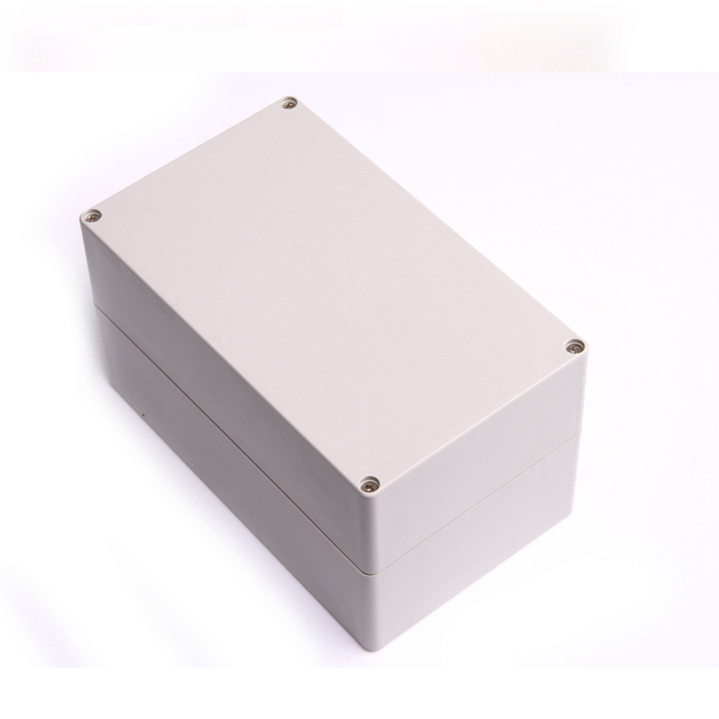 Free Shipping Grey Waterproof Plastic Cover Project Electronic Instrument Case Enclosure Box 200 120 113mm