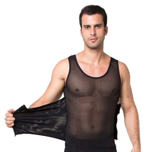 d19ab6b8d1 placeholder male waist trainer vest black white tummy tuck belt weight loss  corset belly reducer stomach girdle