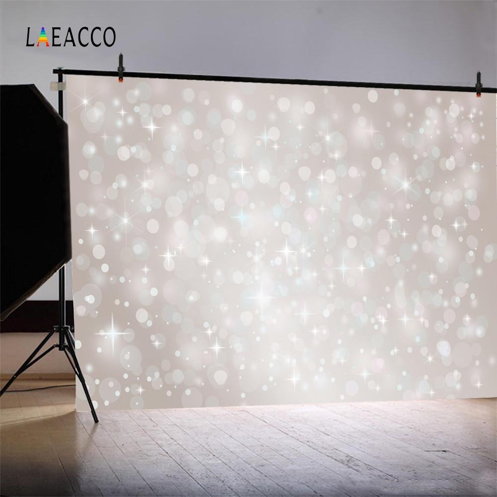 Laeacco Dreamlike Light Bokeh Pat pentru nou-născuți Fotogramele - Camera și fotografia - Fotografie 2