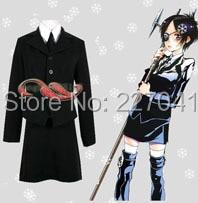 Anime Katekyo Hitman Reborn Chrome Dokuro Cosplay Costume