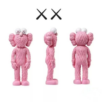 12Inch Medicom Toy KAWS BFF Tide Doll OriginalFake Brian Street Art PVC Action Figure Collectible Model Toy Retail Bags S162