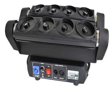 stage dj equipment Single green laser light 8eyes laser spider moving head dmx lighting for night club with flight case laser sword of the double head laser sword cu guangzhu stage performance props laser rod 100mw