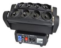 stage dj equipment Single green laser light 8eyes laser spider moving head dmx lighting for night club with flight case