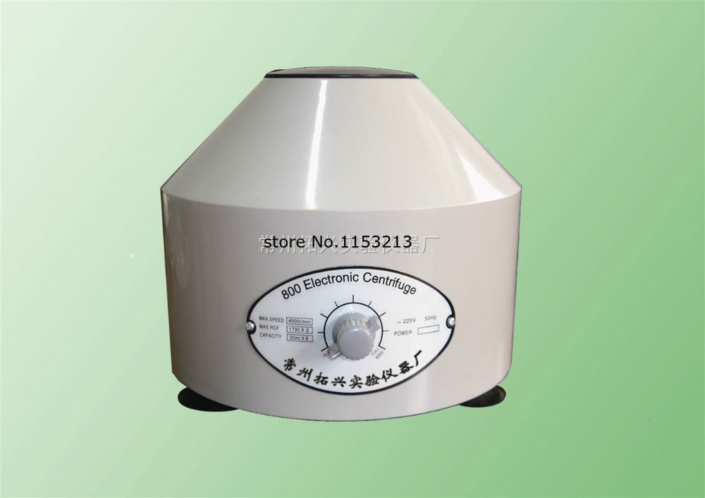 купить 800 Table Power Centrifuge Electric Lab Centrifuge Laboratory Medical Practice Supplies 4000 rpm 20ml x 6 по цене 5779.79 рублей