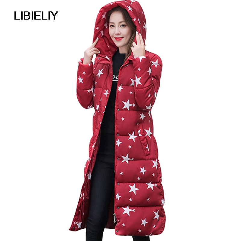 Nice High Quality Women Winter Long Coat Hooded Thicken Warm Slim Jacket Female Plus Size 2XL Ladies Parka Overcoat Chaqueta europe new 2015 winter warm long duck down jacket coat women high quality hooded thicken plus size windproof parka ae714