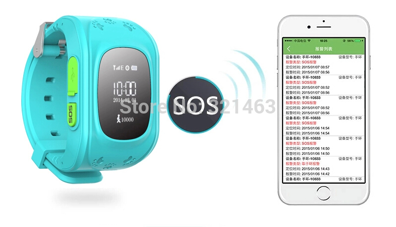 2017 Mini Gps Tracker Watch For Kids Sos Emergency Anti Lost Smart Mobile Phone Bracelet Wristband Two Way Communication In Watches From Consumer