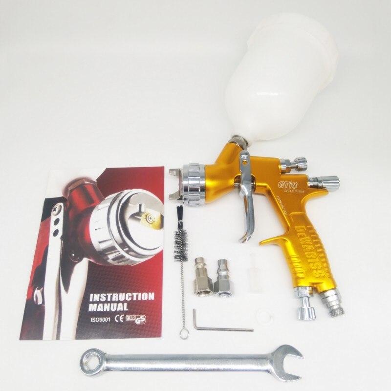 Weta HVLP top qualité SGTI pulvérisation pistolet à peinture 1.3mm Airbrush pistolet airless pour peinture voitures outil Pneumatique air brosse pulvérisateur