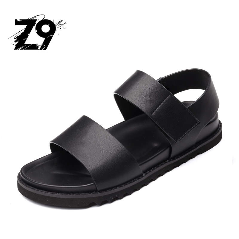 2017 New Summer Beach Shoes Men Sandals Roma Leisure breathable Open Toe is High Quality Pu Sandal Male