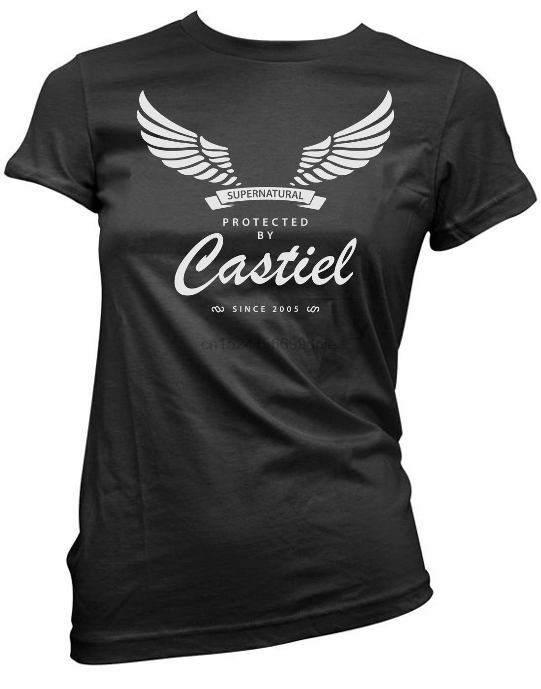New! Perfect quality shirt castiel and get free shipping