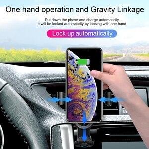 Image 4 - CHOETECH Không Dây Sạc 10W Tề Ô Tô Không Dây Sạc Điện Thoại Cho iPhone 11 Pro Xs Max Điện Thoại Nhanh Ô Tô ốp Dành Cho Samsung S9