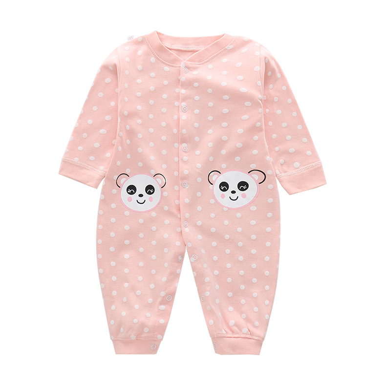 Winter clothes Newborn baby boy girl cute Cartoon Cotton Long Sleeve Baby Rompers Soft Infant Baby girl Clothing Set Jumpsuits 6003 aosta betty baby rompers top quality cotton thickening clothes cute cartoon tiger onesie for baby lovely hooded baby winter