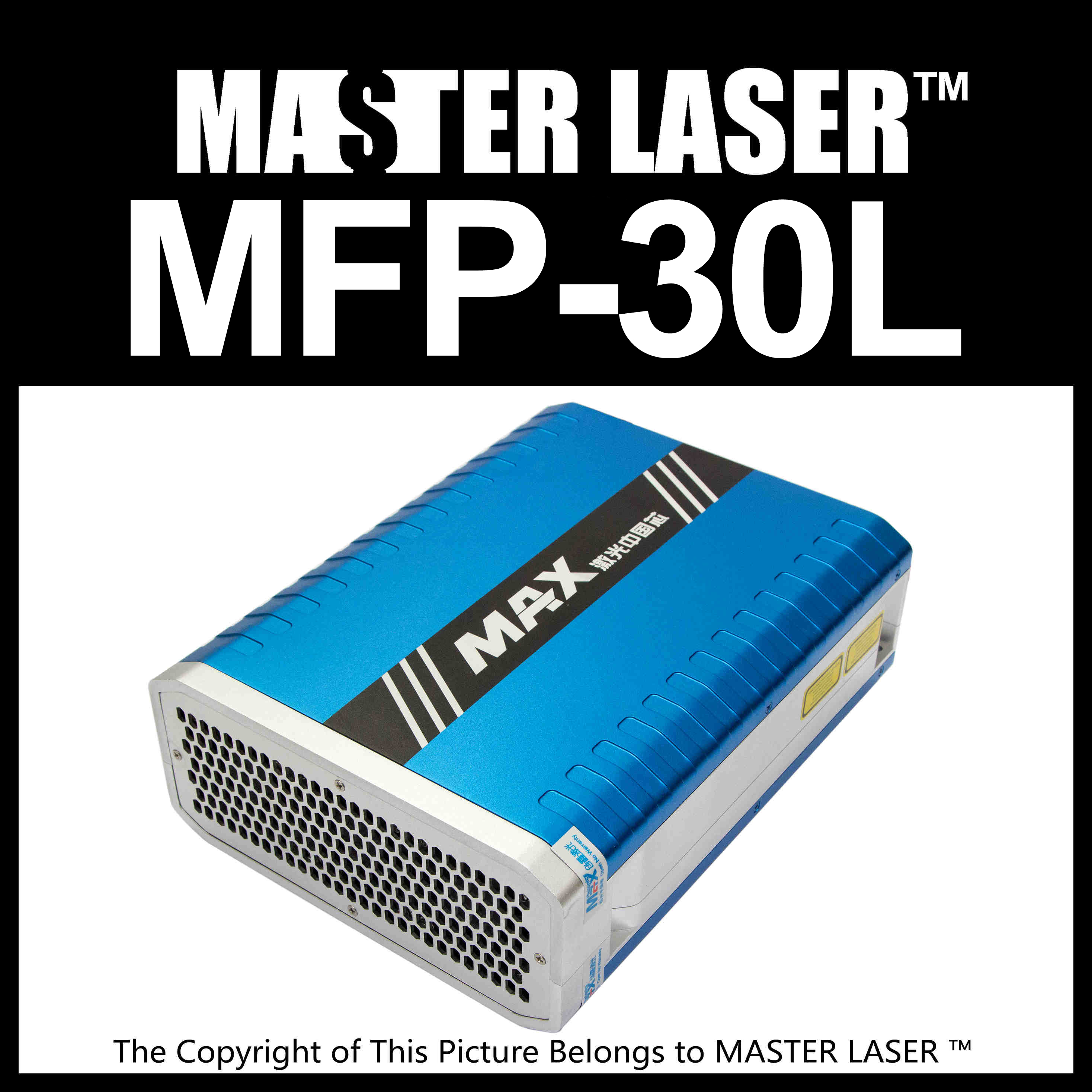 Discount Good Quality MAX PHOTONICS MFP-30L  Laser Engraving Machine DIY PART Fiber Laser 30w 80% discount