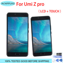 1920X1080 5.5″ FOR UMI Z Pro LCD Display+Touch Screen 100% TESTED LCD Digitizer Glass Panel Replacement For UMIDIGI ZPRO +tools