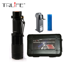 3800LM Flashlight LED CREE XM-L2 Bicycle Light Waterproof 5-modes Bike Light Lantern Tactical Flashlight Torch