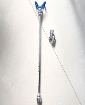 цена на Aftermarket 30 Extension pole 75cm with Tip Guard 7/8 Universal Pole Swivel 180 degree