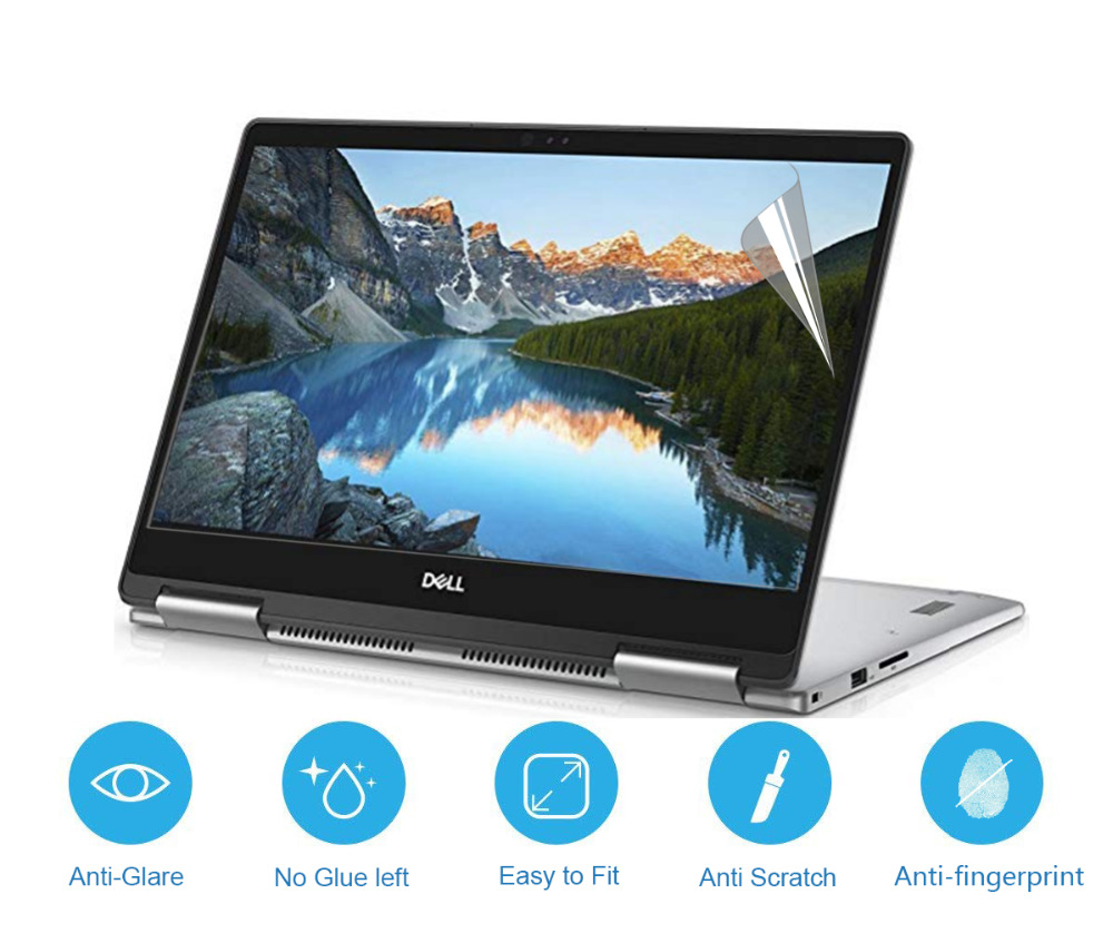 """Whole Screen Guard Protector Fit Dell Inspiron 13-5379 13/"""" Touch Screen"""
