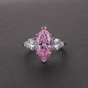 Image 2 - OneRain Vintage 100% 925 Sterling Silver Mariquesa Sapphire Topaz Citrine Wedding Engagement Couple Lover Women Men Ring Jewelry
